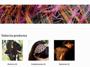 Las artesanas, tienda online